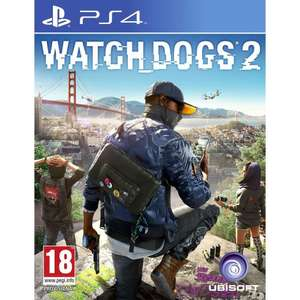 [PS4] Watch Dogs 2 - £22.00 @ Amazon