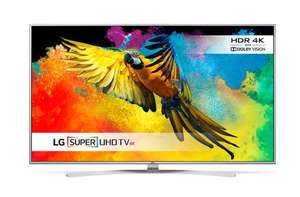 "LG Electronics 49UH770V 49"" HDR Super Ultra HD (2160p) WebOs 4K TV - £580.93 (with code) @ BT Shop"