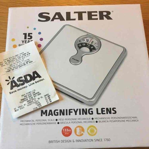 Salter bathroom scale £1.88 in store @ ASDA Wakefield