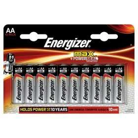 Energizer Max + Power Seal Alkaline AA Batteries (10 pack) - £3.50 @ ASDA