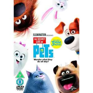 The Secret Life of Pets DVD £3.00 @ Smyths (instore only)