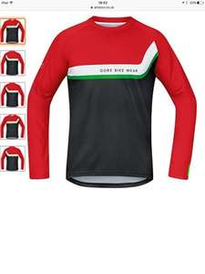 Gore Bike Wear long sleeve power trail jersey size Large down to £21.60 delivered @ Amazon (regular price £60)