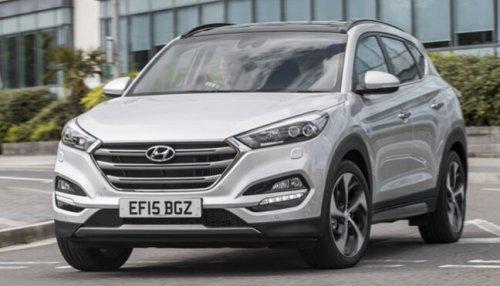 Hyundai Tucson 1.7 CRDi Blue Drive SE Nav 5dr 5000 miles a year Select Car Leasing 24 month lease £4607.66