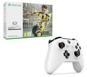 Xbox One S 500gb with FIFA 17+ additional controller  £219.99 @ Currys