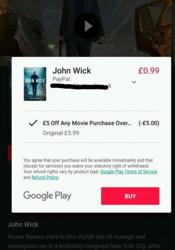 John Wick HD 99p glitch on Google Play Movies
