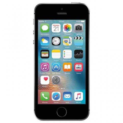 "Apple iPhone SE, iOS, 4"", 4G LTE, SIM Free, 64GB, Space Grey £379 @ John Lewis"