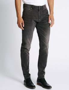 Mens Jeans Various Styles from £11.00 @ Marks & Spencer