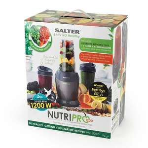 Salter 1200 Watt NutriPro Blender (2nd gen) - £39.99 at Taskers online or in store