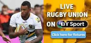 Saracens vs Bath free on BT Sport 3pm today