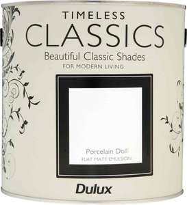Dulux paint 2.5l tins 3 for £10 in store @ boyes