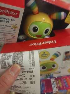 fisher price dance and move Beatbo reduced to clear £11 Asda