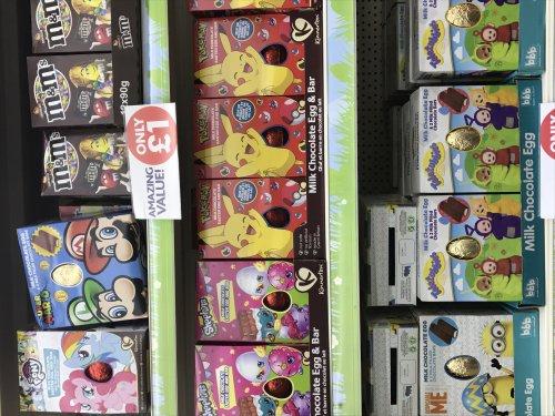 Shopkins, my little pony, mario, Pokemon, teletubbies + more Eastere eggs @poundworld