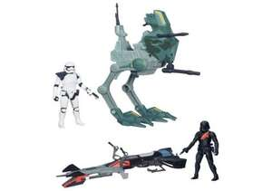 Star Wars: The Force Awakens 3.75 inch Walker/Speeder Asst £9.99 @ Argos