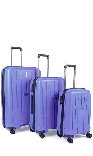Antler Lightning 3 Piece Suitcase Set Purple £121 (RRP £450) @ Antler