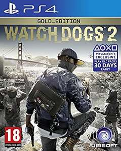 Watchdogs 2: Gold Edition (PS4/XBONE) - £30 @ Gamescentre