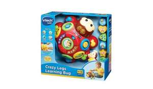 Vtech Crazy Legs Learning Bug £9 ASDA online (Free C&C)