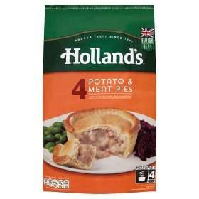 Hollands Pie and Puddings £1.50 for 4 at Asda