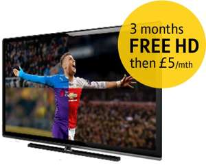 BT Sport via Sky box Free for 6 Months and 3 months free HD then £22.99 per month