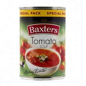 Baxters 380g Tinned Tomato Soup 10p @ Poundstretcher RRP £1.10