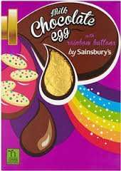 Sainsburys Medium Easter Eggs (155g-175g)  80p each  -  ( List of Other Current Best Deals below also)