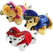Paw patrol pillow pets all 3 in pic available £10 each @ The works free c&c (£19.99 @ argos)