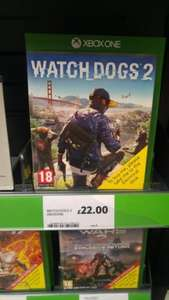 watchdogs 2 xbox and ps4 £22.00 @ Tesco