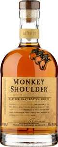 Monkey Shoulder Blended Malt Whisky 700ml - was £27 now £20 at Morrison's (in-store and online)