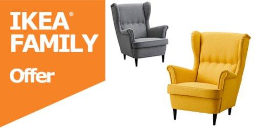 STRANDMON wing chair for £125 instead of £179 @ IKEA Tottenham / Edmonton