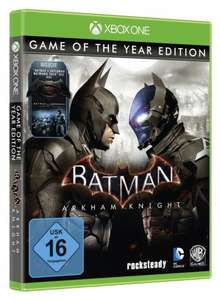 [Xbox One] Batman: Arkham Knight Game of the Year Edition - £16.74 - Amazon.it