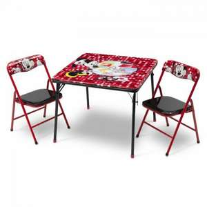 Minnie mouse folding children's 3 piece table and chairs set £18.99 + £4.99 delivery @ wayfair (was £49.99)