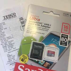 16gb micro SD Tesco strood - £5 instore
