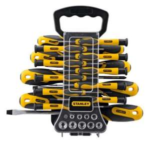 Stanley 49 Piece Screwdriver Set with carry case = £17.49 @ Argos (& Argos-eBay)