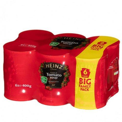 6 x 400g Heinz Tomato Soup was £4.00 now £2.89 @ Poundstretcher Telford