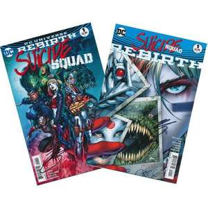 Suicide Squad Rebirth & Suicide Squad - Issue #1 (SIGNED 2 Pack by author Rob Williams £3.99 @ Forbidden Planet)