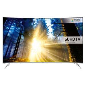 Samsung UE49KS7500 Silver - 49inch 4K Ultra HD Curved TV with Quantum Dot £789.99 @ Co-OP