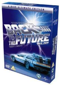 Used - Back to the Future Trilogy DVD Boxset (MusicMagpie) 95p Free Delivery