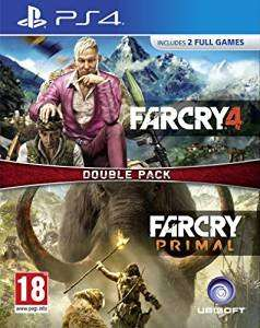 Farcry 4 / primal ps4 / xbone double pack £21.99 @ amazon