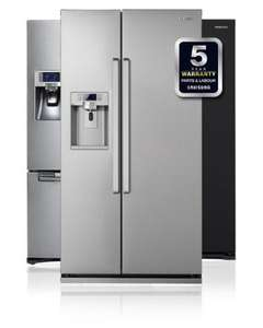 Samsung G-Series American Fridge Freezer - Stainless Steel £849 (with code) + £100 redemption cashback = £749 & 0% finance @ ao.com