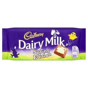 Cadbury dairy Milk Spring Edition - 59p @ Home Bargains