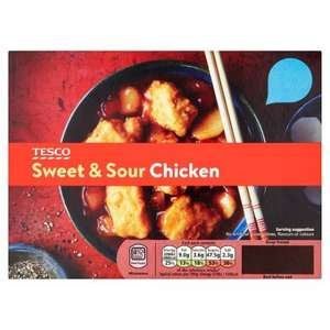Tesco Sweet And Sour Chicken (Frozen) 38p Instore @ Tesco (Liverpool)