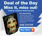 Deal of the Day @ The Hut: Saw Quadrilogy just £14.93 delivered + Quidco!