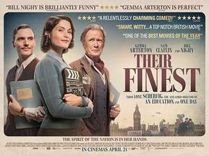 Free pair of cinema tickets to see THEIR FINEST at CINEWORLD from radiotimes