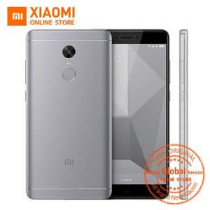 "Global Version (Band20) Xiaomi Redmi Note 4 Mobile Phone 3GB RAM 32GB ROM Snapdragon 625 Octa Core CPU 5.5"" 1080p Display 13MP - £121.11 @ Ali Express /  Xiaomi Online Store"