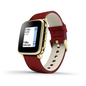 Pebble Time Steel - Red with Gold Band £79.74 Sold by Deal_Buyer and Fulfilled by Amazon.