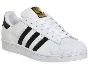 Adidas Superstar 1 White Black - £36 (£39.50 delivered) with 10% student discount @ Office Shoes (£40 full price)