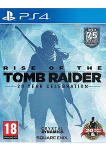 [PS4] Rise Of The Tomb Raider: 20 Year Celebration £24.85 (SimplyGames)