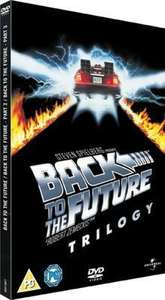 Back to the Future Trilogy - Used DVD Boxset (Music Magpie) 20% off - only 95p, FREE DELIVERY!