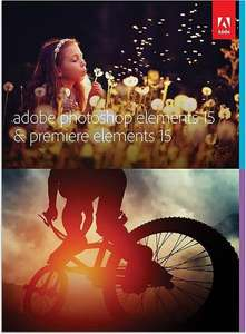 Adobe Photoshop Elements 15 & Premiere Elements 15 (PC/Mac) Amazon Deal of the Day £55.99