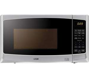LOGIK L20GS14 Microwave with Grill - Silver £49.99 Currys