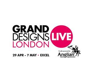 Free Grand Designs Live 2017 tickets (5000)
